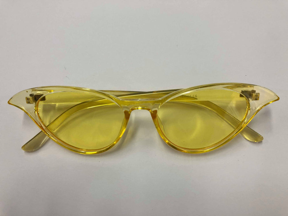 Beach Town | Cat Eye Sunnies Yellow