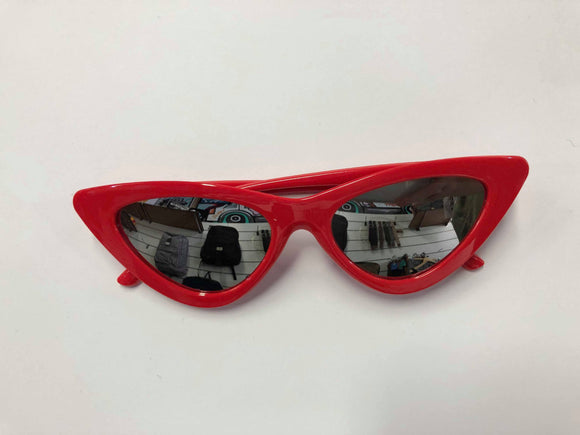 Beach Town | Faves Sunnies Reflector Red
