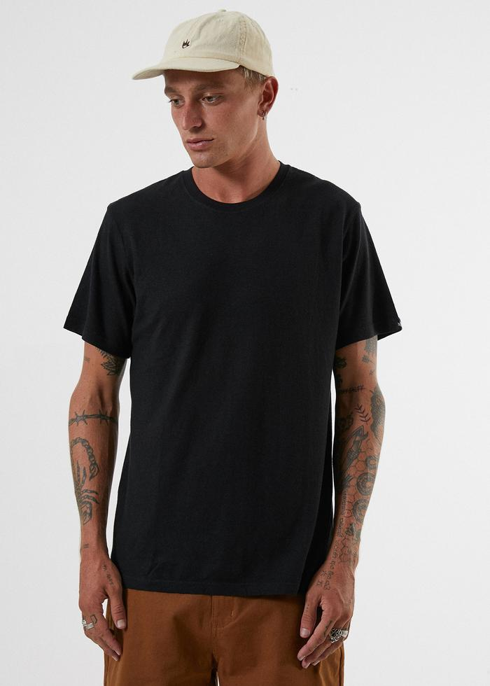 Afends | Classic Hemp Standard Fit Tee Black