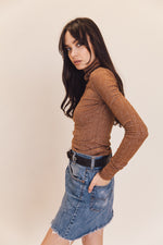 Lenni The Label | Illusion Knit Cocoa