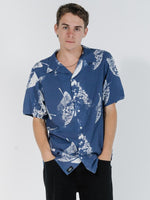 Thrills | Impression bowling shirt