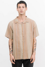 Thrills| Disorder Stripe Bowling Shirt