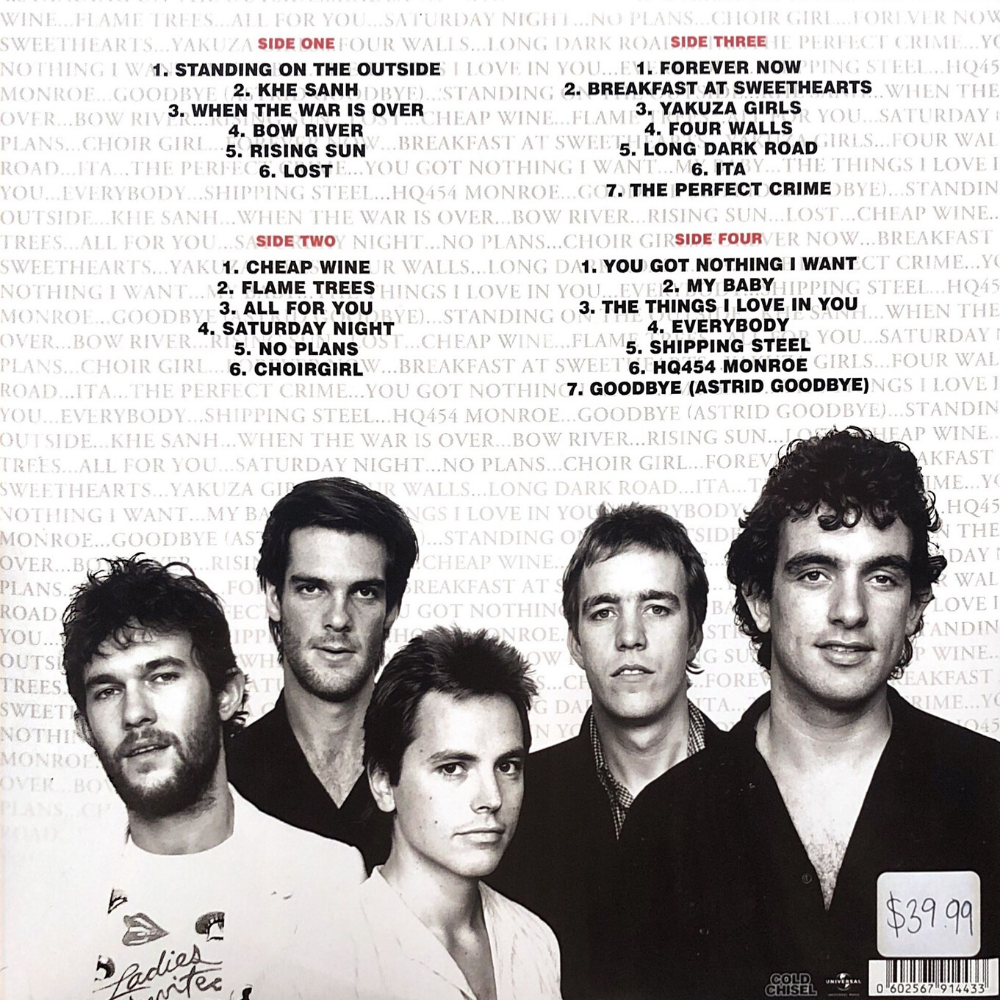 cold chisel the best of vinyl records beach town ballina