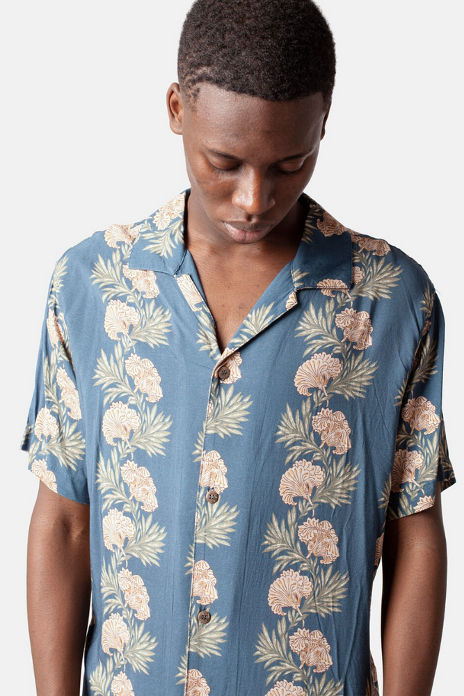 Rhythm Honolulu Shirt Mens Button Up Shirts Beach Town Ballina