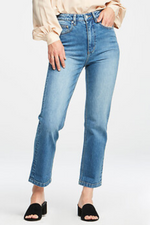 Womens jeans fervour high straights beach town ballina