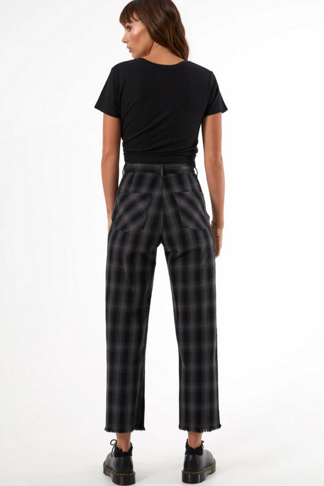 Afends | Shelby Check High Waist Pants