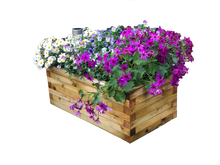 Medium Wooden Block Planter