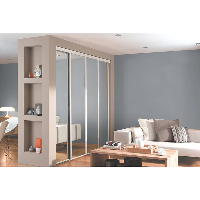 4 Door sliding door kit mirror 2672 X 2260MM