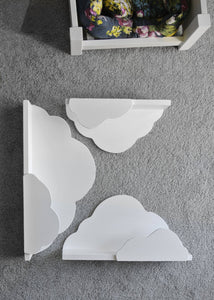 White Cloud Shelf Hand Made for children's rooms - IshBuild | Design that lasts