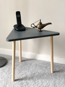 Triangle side table