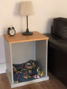 Lainey Side Table with Nook