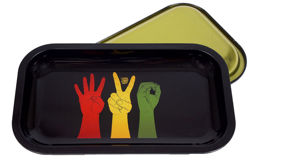 420 Smoke Hands Rolling Tray