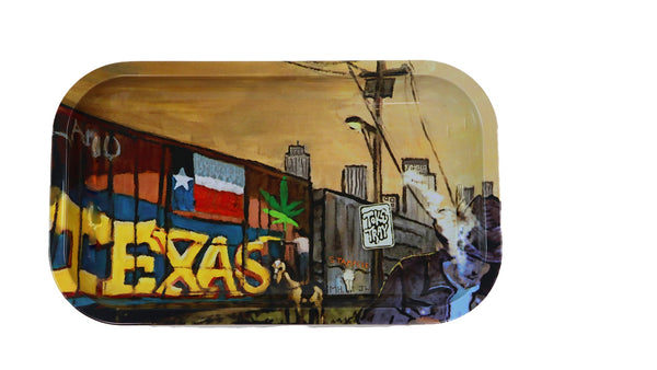 Texas Rolling Tray