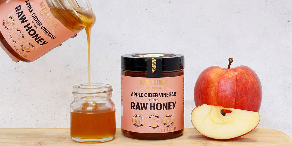 Introducing: New Apple Cider Vinegar Infused Honey