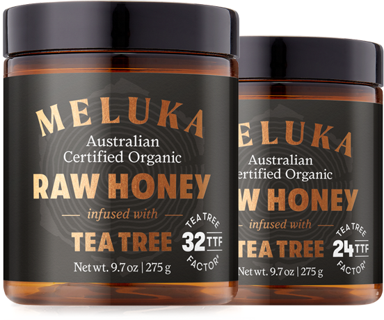 Tea Tree Range - Single Origin, Multi-Active Honey - Meluka AU
