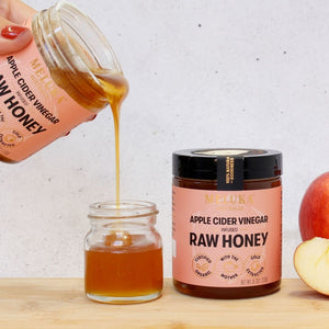 Load image into Gallery viewer, Apple Cider Vinegar infused Raw Honey