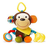 Baby Activity and Teething Toy with Multi-Sensory Rattle and Textures - Sour Patchy