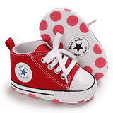 Unisex Baby Boys Girls Star High Top Sneaker - Sour Patchy