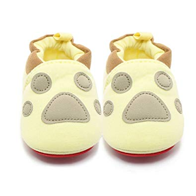 Baby Infant Toddler Cartoon Rubber Sole Crib Shoes - Sour Patchy