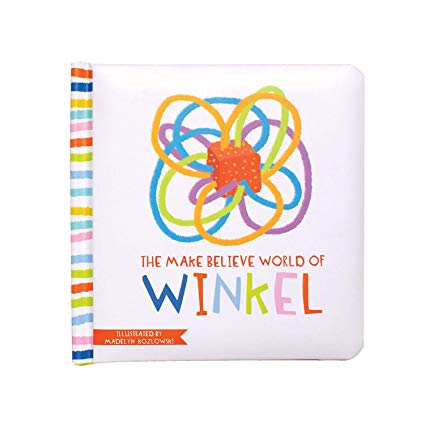 Toy Winkel Rattle and Sensory Teether Toy - Sour Patchy