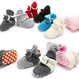 Unisex Baby Fleece Lined Cozy Booties - Sour Patchy