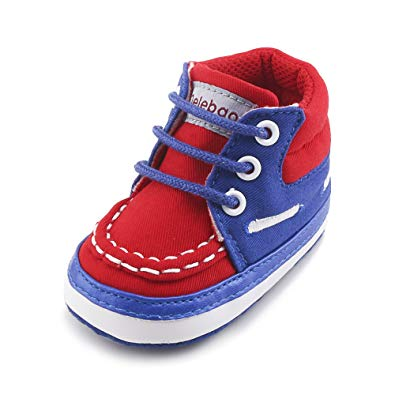 Infant Toddler Baby Lace Up Warm Sneakers - Sour Patchy