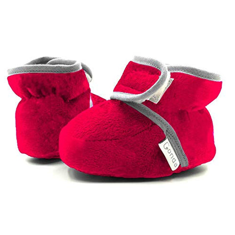 Baby Booties Girl & Boy Infant Fleece Slippers - Sour Patchy