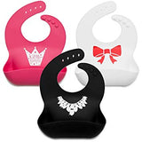 Baby Bibs for Girls & Boys 3 Pack - Sour Patchy