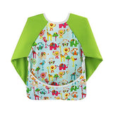 Toddler Baby Waterproof Sleeved Bib - Sour Patchy