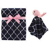 Plush Blanket and Animal Security Blanket Set - Sour Patchy