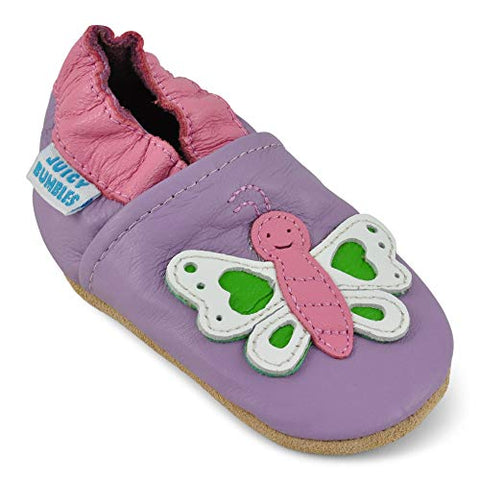 Toddler Shoes with Suede Soles - Sour Patchy