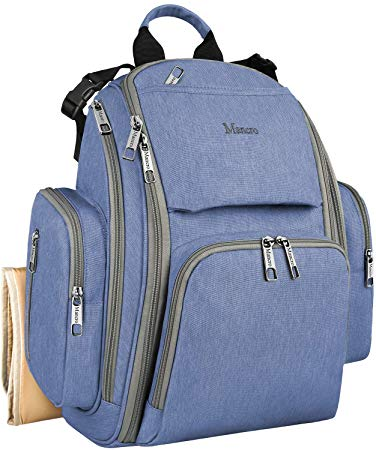 Diaper Bags for Boys, Large Baby Diaper Bookbag with Changing Pad - Sour Patchy
