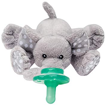 Plushies Elephant Buddies - Pacifier Holder - Sour Patchy