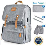 Large Capacity Diaper Bag Backpack - Sour Patchy