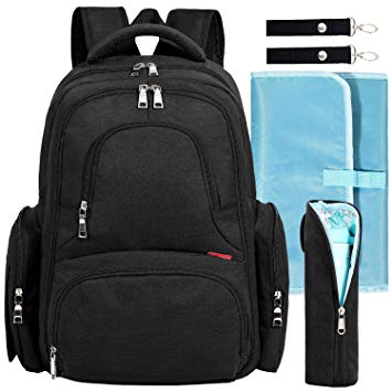 Baby Diaper Bag Waterproof Travel Diaper Backpack - Sour Patchy
