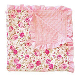 Baby Floral Blanket Toddler Soft Blankie - Sour Patchy