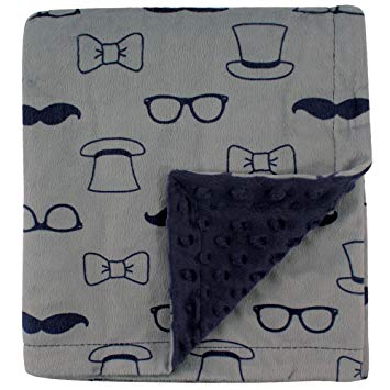 Printed Mink Blanket with Dotted Backing - Sour Patchy