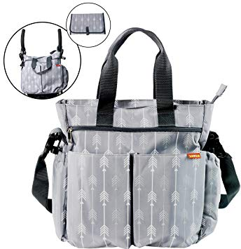 Diaper Bag for Baby - Diaper Tote Bag with Changing Pad - Sour Patchy