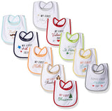 Baby Festive Holiday Bibs - Sour Patchy