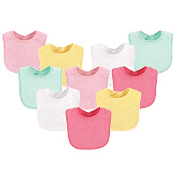 10-Piece Baby Bibs, (Colors May Vary) - Sour Patchy
