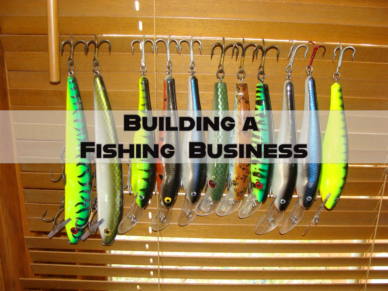 Building a Fishing Lure and Fly Tying Business