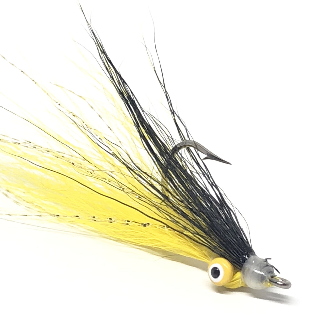 Yellow Skunk Clouser Minnow 99 Cent Flies