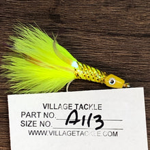 Crappie Sparkle Chartreuse Fishing Fly Size 1/0 Item A113