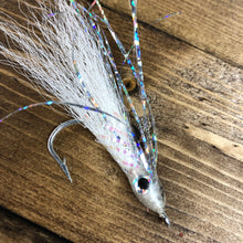 Village Tackle Ghost Sardine Bait Fish Fly #135