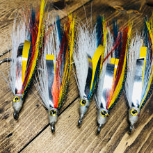Saltwater Fishing Big Game 5/0 Fishing Flies 5ct Item 192