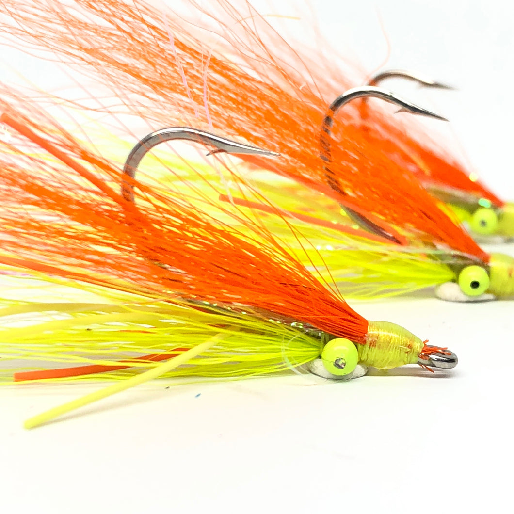 Fire Tiger Clouser Minnow Fly