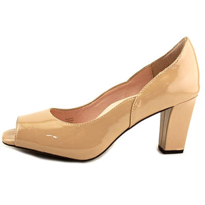 Taryn Rose Womens Francis Peep Toe Classic Pumps