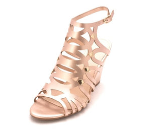 Bar III Lania Wedge Sandals Rose Gold 5.5M