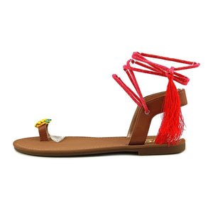 Circus by Sam Edelman Womens Binx-5 Fabric Open Toe Casual Slide Sandals