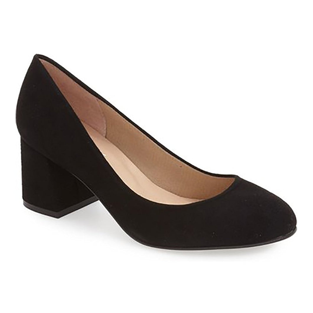French Sole Women's Trance Pumps Shoes, Bl Sde, Size - 8.5